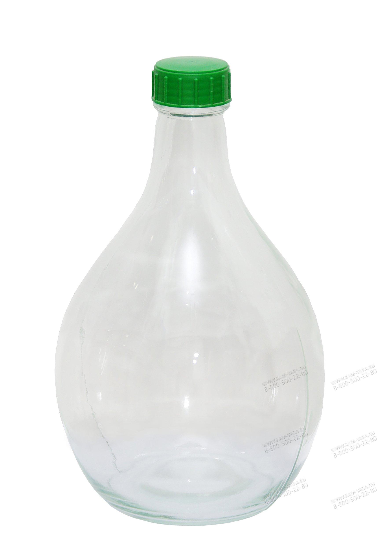 """Бутыль """"Дамижана"""" 5л."""