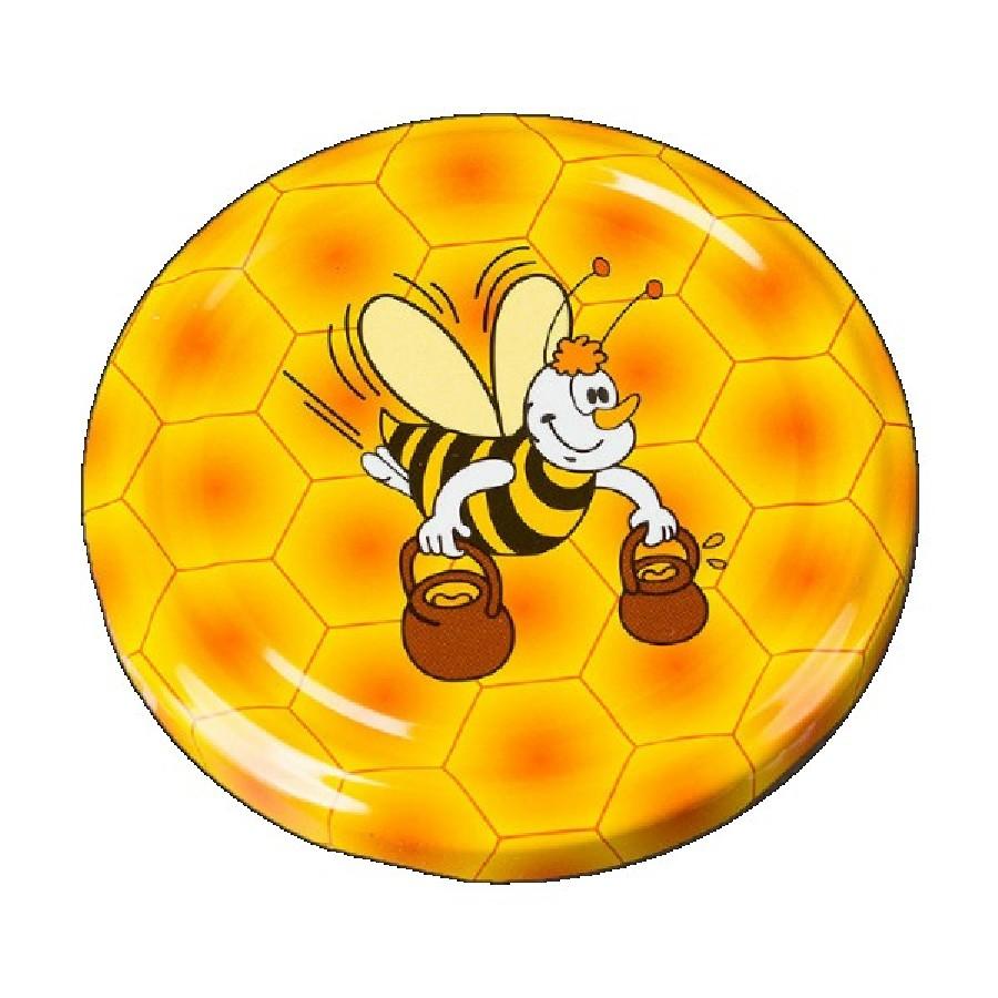 """Крышка 66 """"Пчелка с ведром"""" (кор.1250)"""