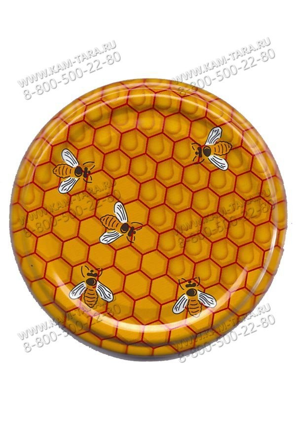"""Крышка 82 """"Пчелка"""" (кор.750)"""