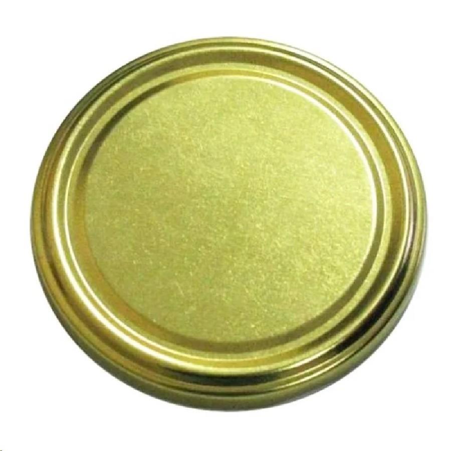 Крышка 82 золотая (кор.750)