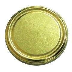 Крышка 66 золотая (кор.1250)
